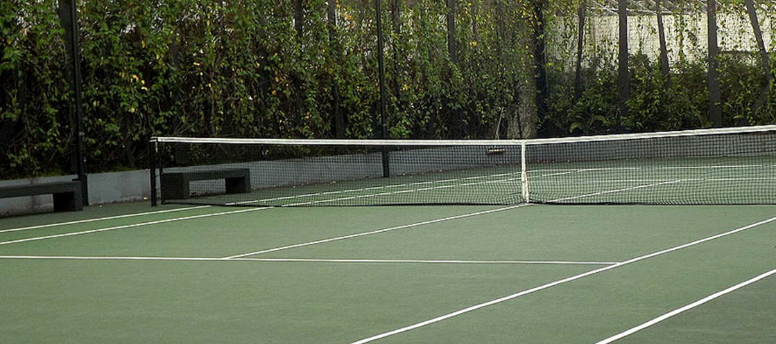 orchard residences tennis court